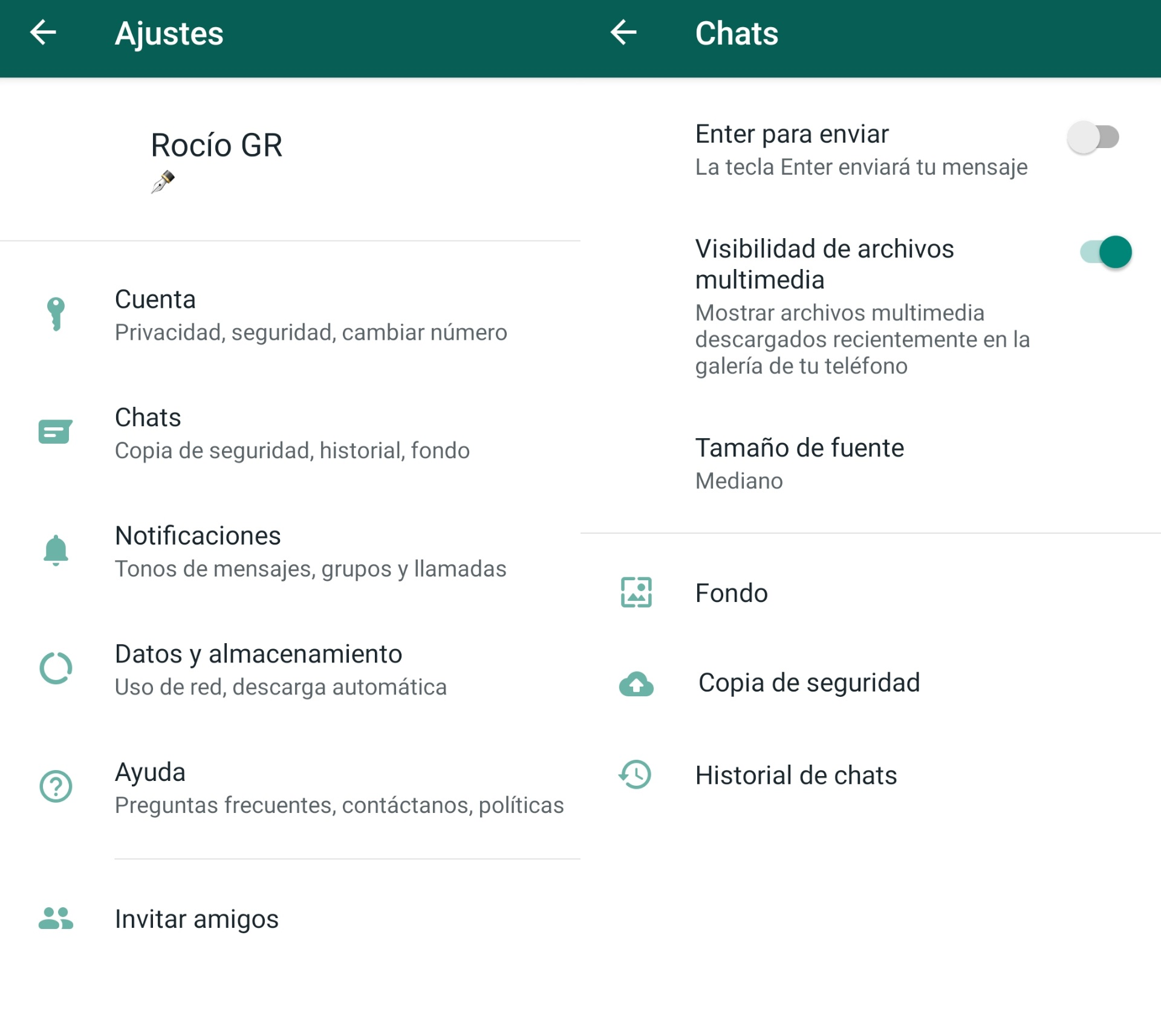 Copia Seguridad De Whatsapp