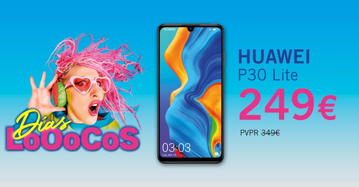 Días Locos Huawei P30 Lite