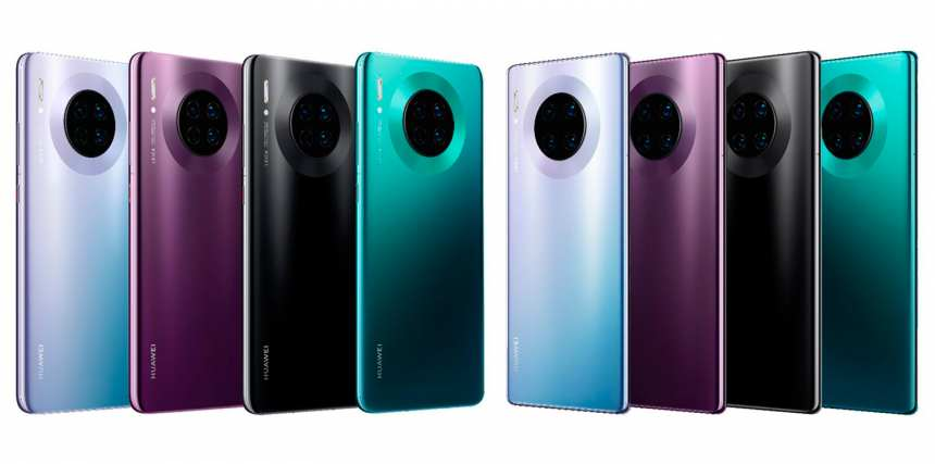 Huawei Mate 30 Colores