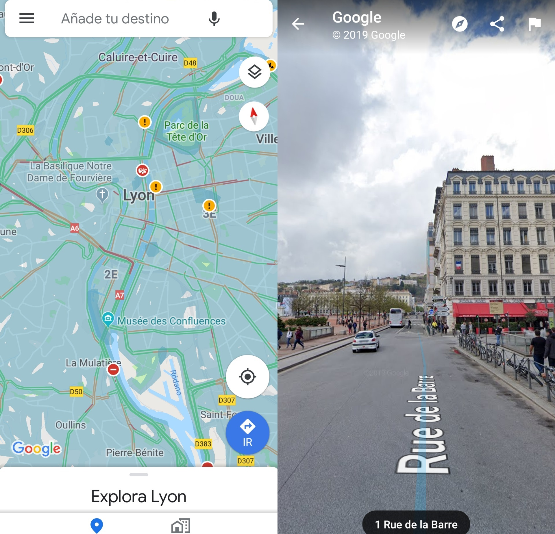 Street View En Google Maps