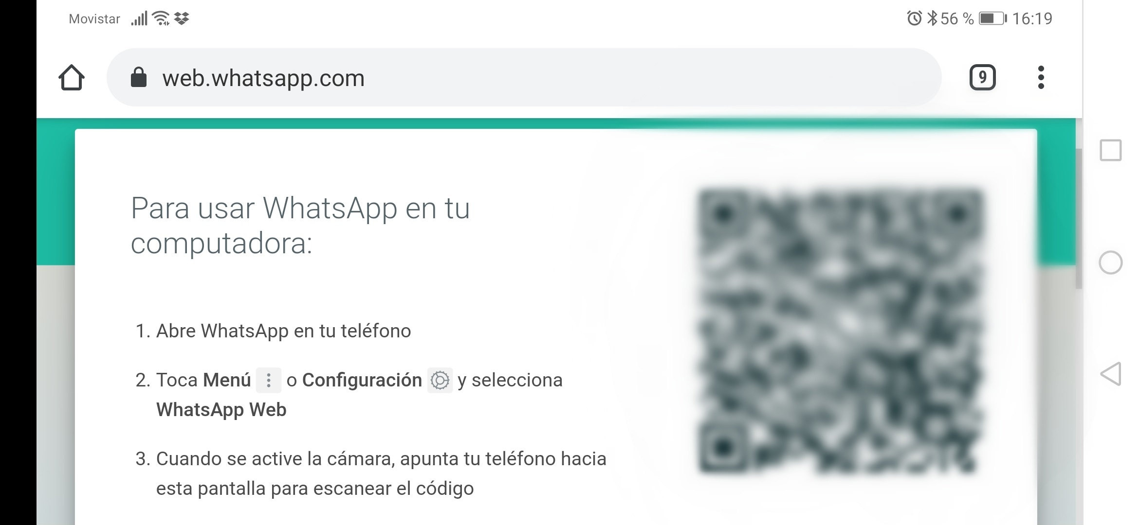 Whatsapp Web En La Tablet