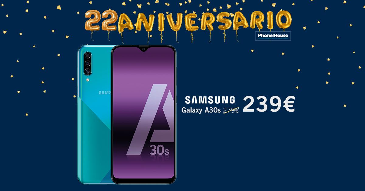 Samsung Galaxy A30s 22 Aniversario