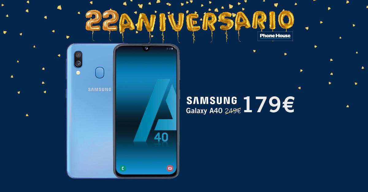 Samsung Galaxy A40 22 Aniversario