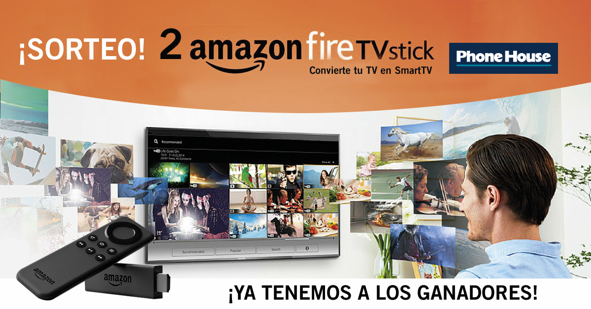 Ganador sorteo Amazon Fire TV Stick