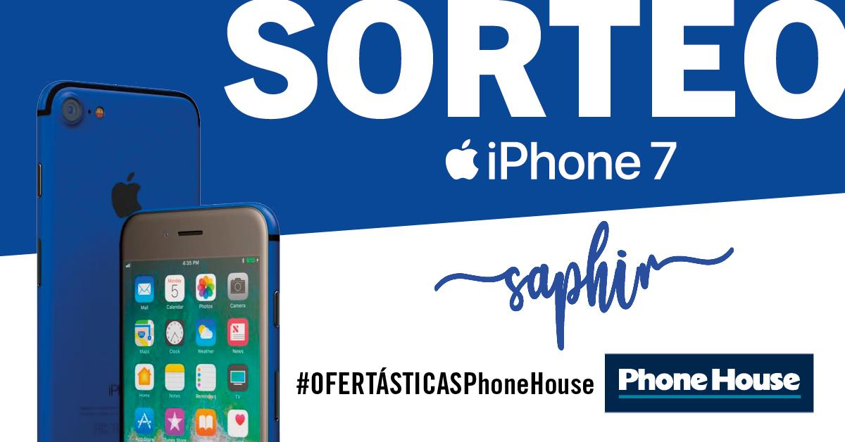 Sorteo iPhone 7 azul Sapphire