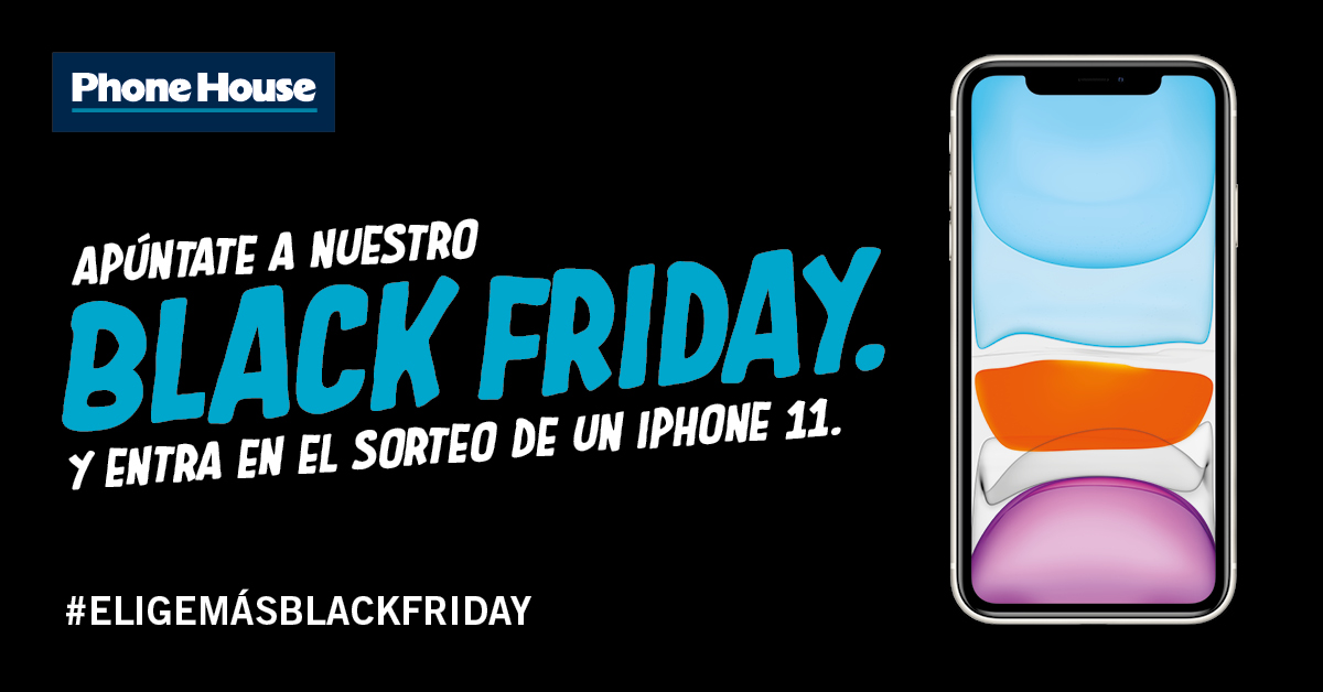 Sorteo iPhone 11 Black Friday