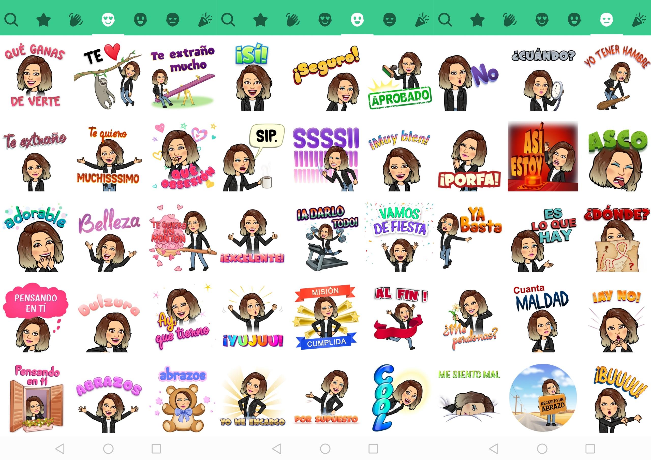 Crear Emojis Bitmoji