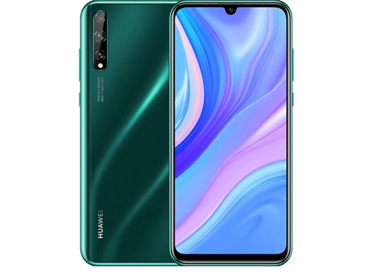 Frontal y trasera Huawei Enjoy 10s