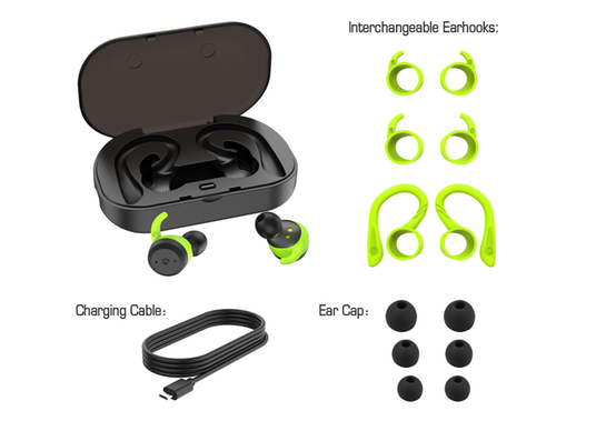 Me Auriculares True Wireless Sport 3 En 1