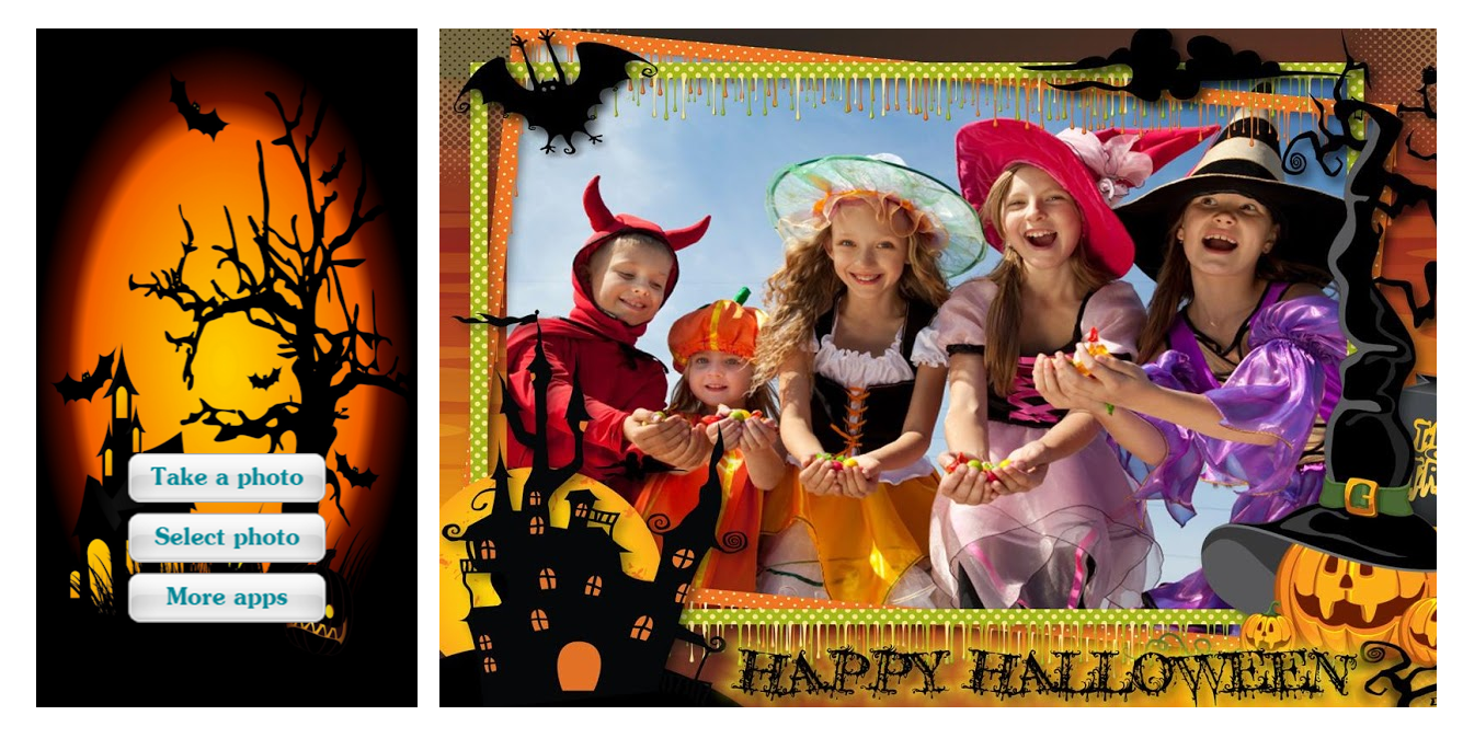 Marcos De Fotos Halloween By Styles Apps