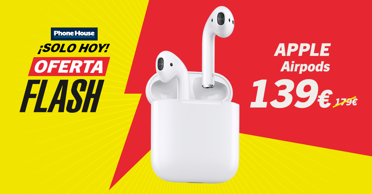 Oferta Flash Airpods