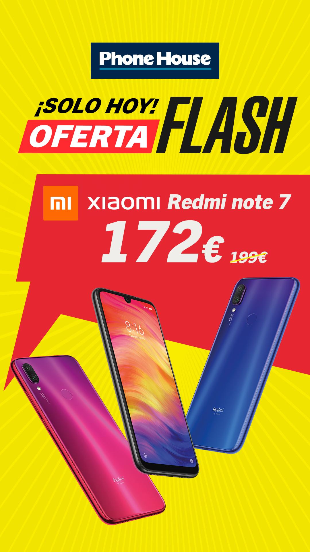 Oferta Flash Xiaomi Redmi Note 7