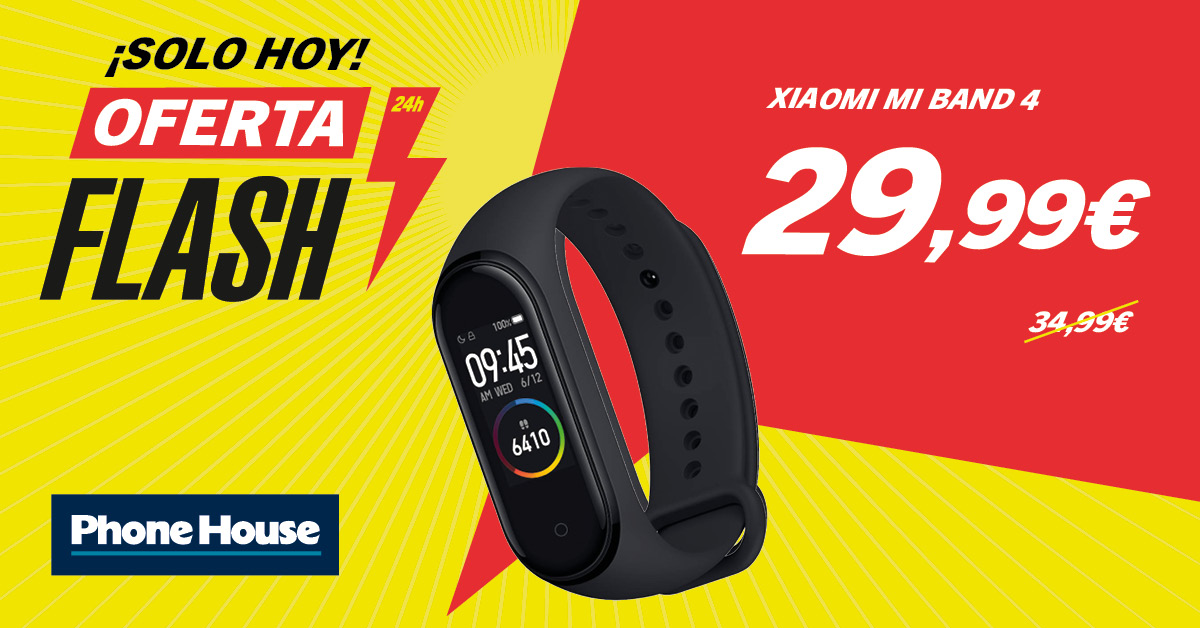 Oferta Flash Xiaomi Mi Band 4