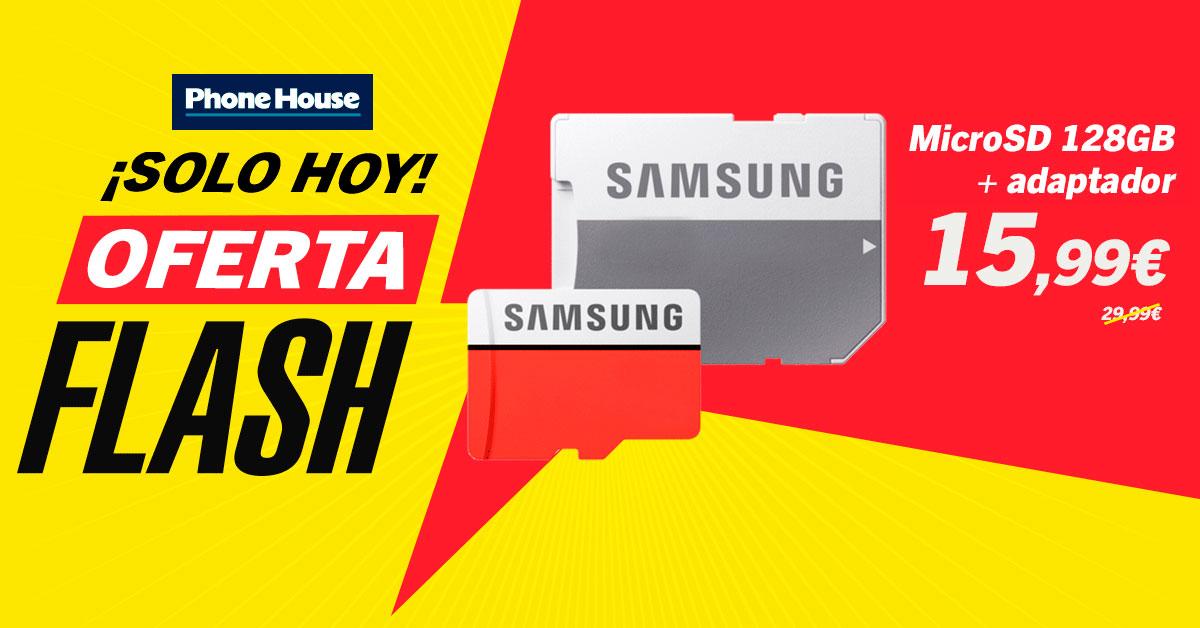 Oferta Flash MicroSD Samsung
