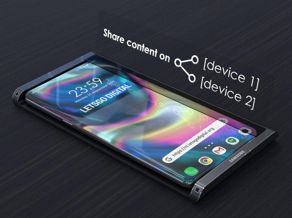 Proyeccion Samsung