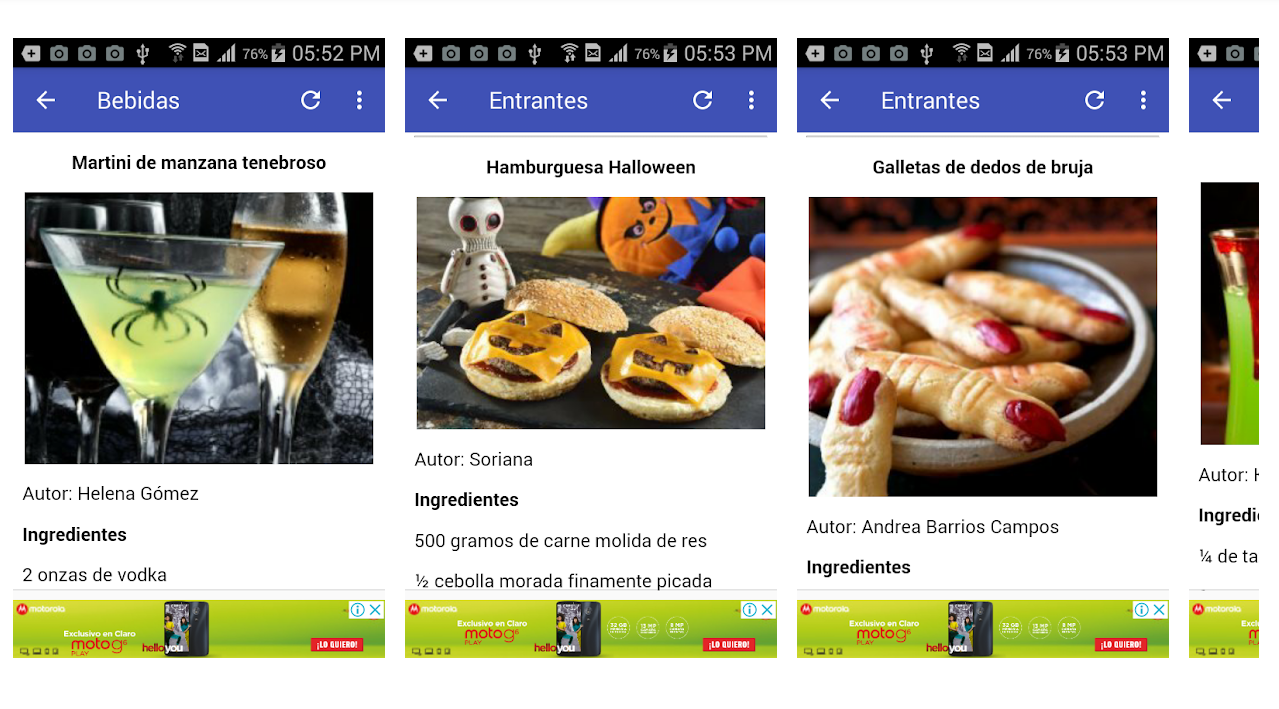 Recetas Para Halloween By Apps Cuba