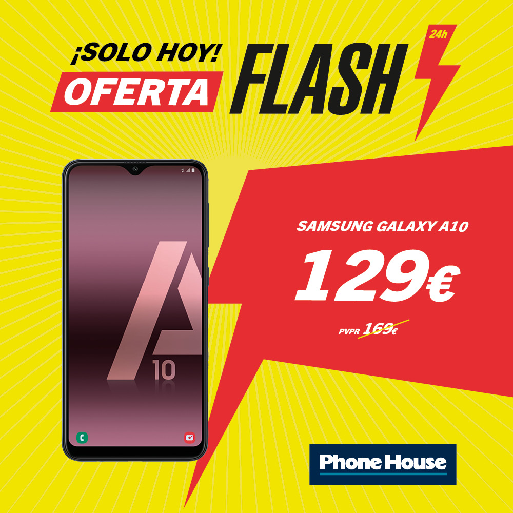 Samsung Galaxy A10 Oferta Flash Phone House