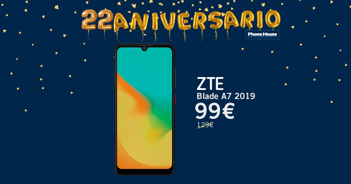 ZTE Blade A7 2019 22 Aniversario