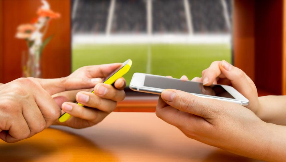 compartiendo datos entre dos móviles