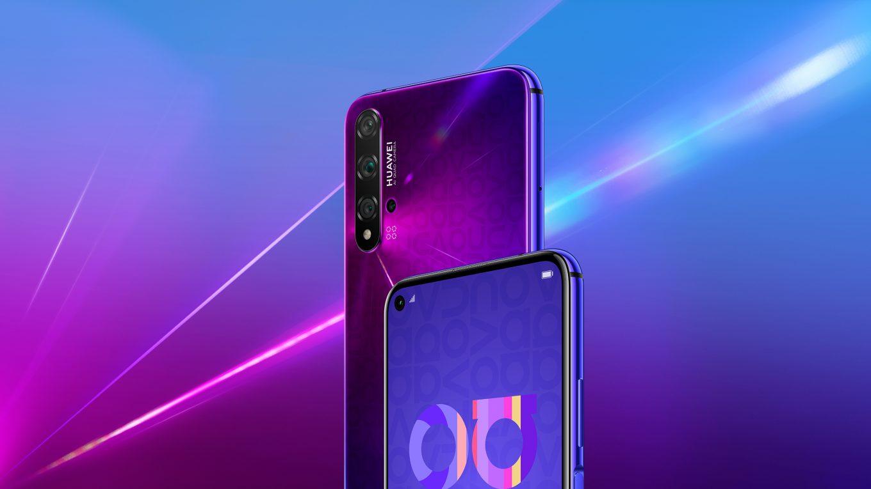 Huawei Nova 5t Color Purple