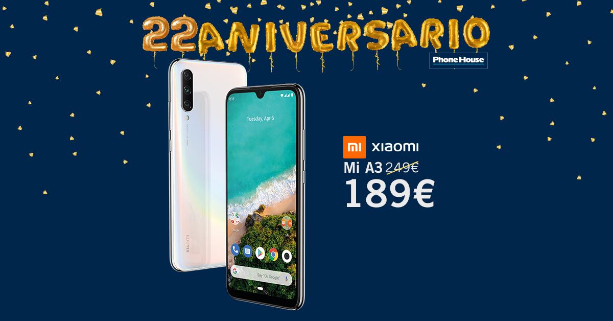 Xiaomi Mi A3 22 Aniversario
