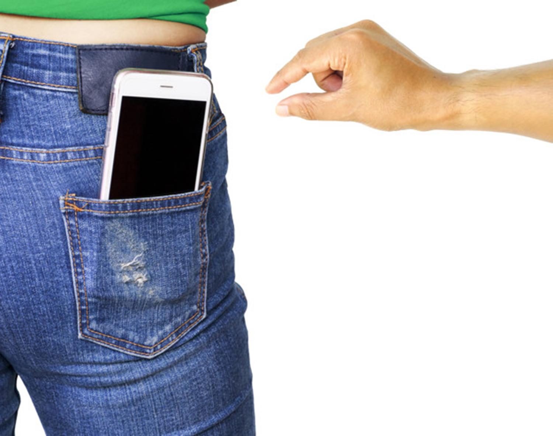 Robando un móvil