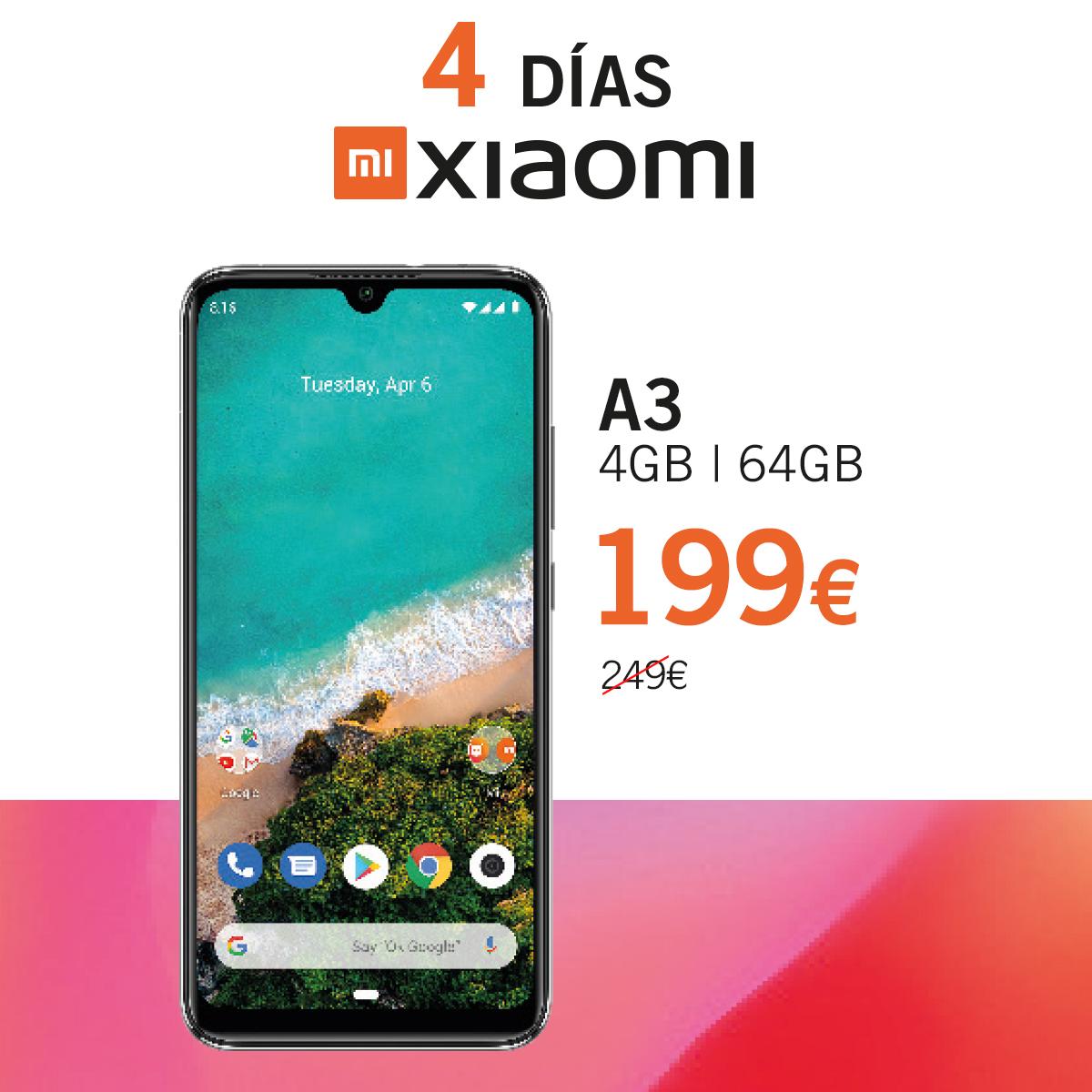 A3 Dias Xiaomi