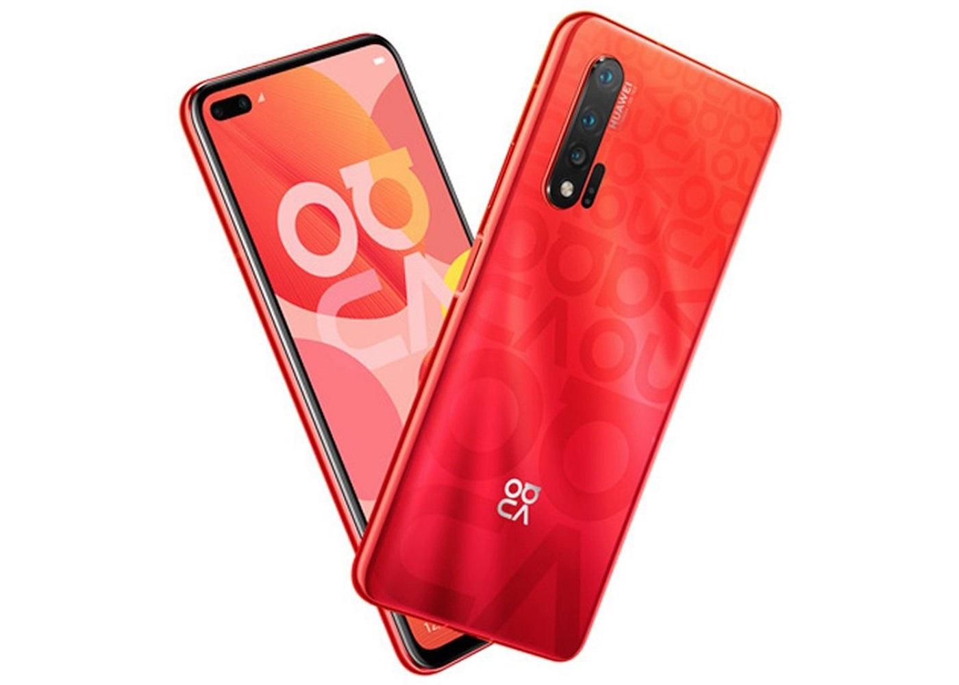Huawei Nova 6 Rojo