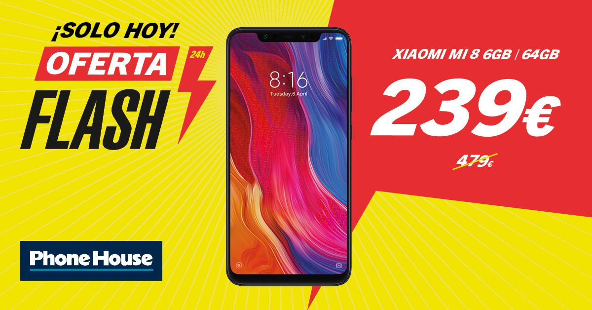 Oferta Flash Xiaomi Mi 8