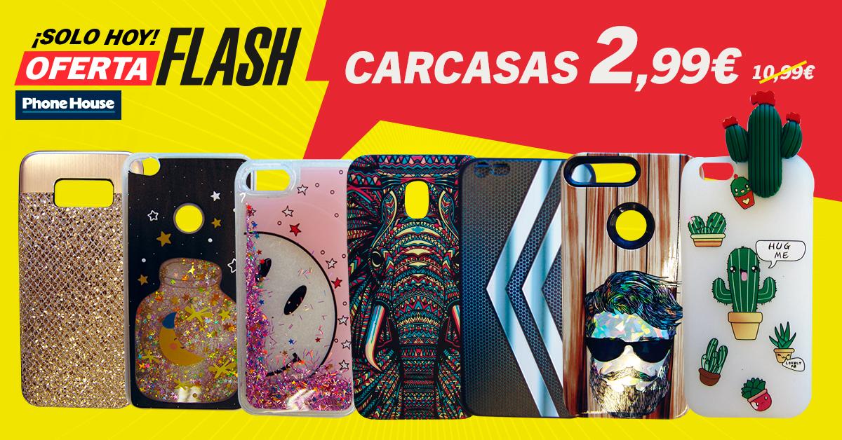 Oferta Flash carcasas