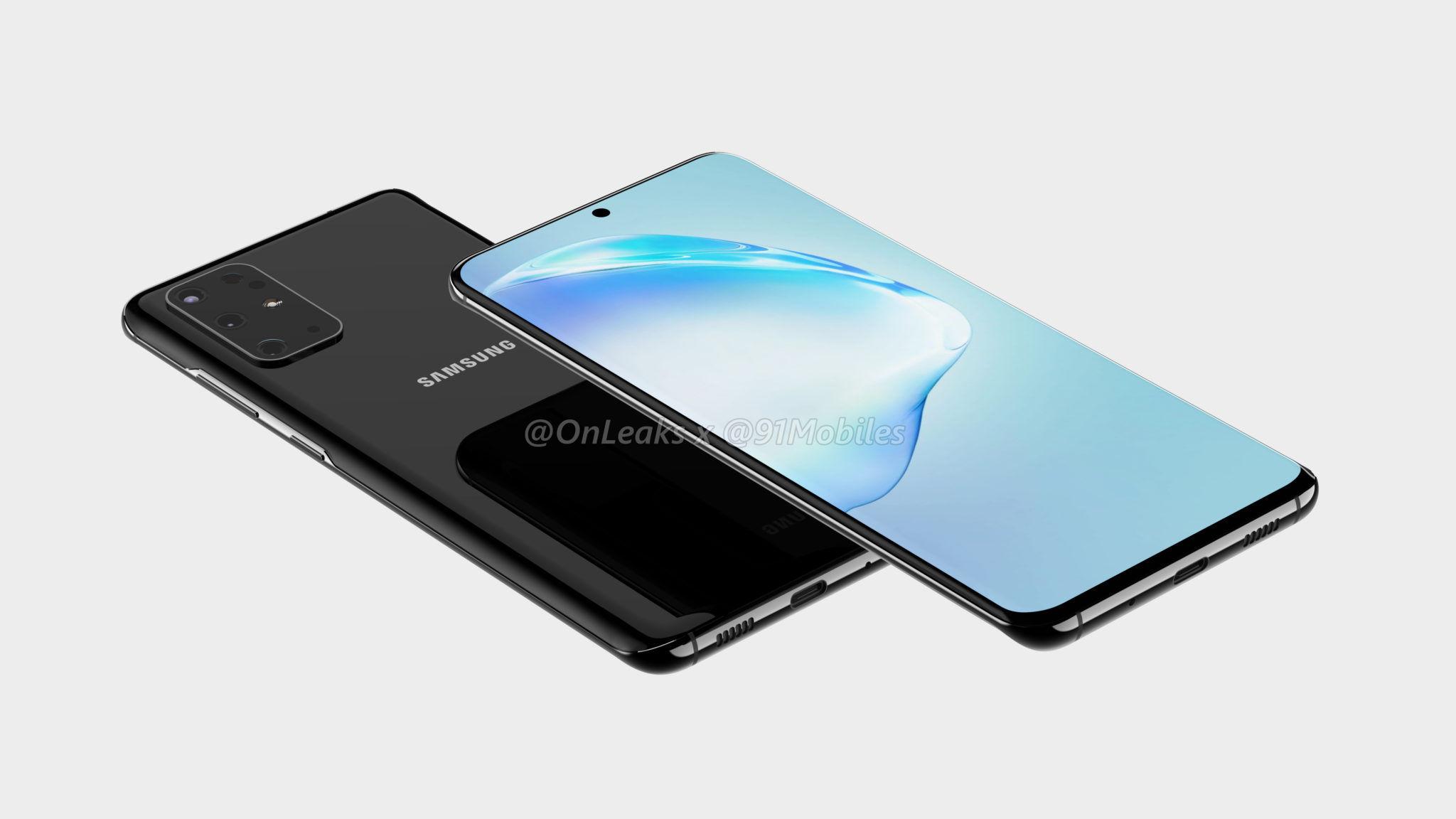 Samsung Galaxy S11 5k Render 4