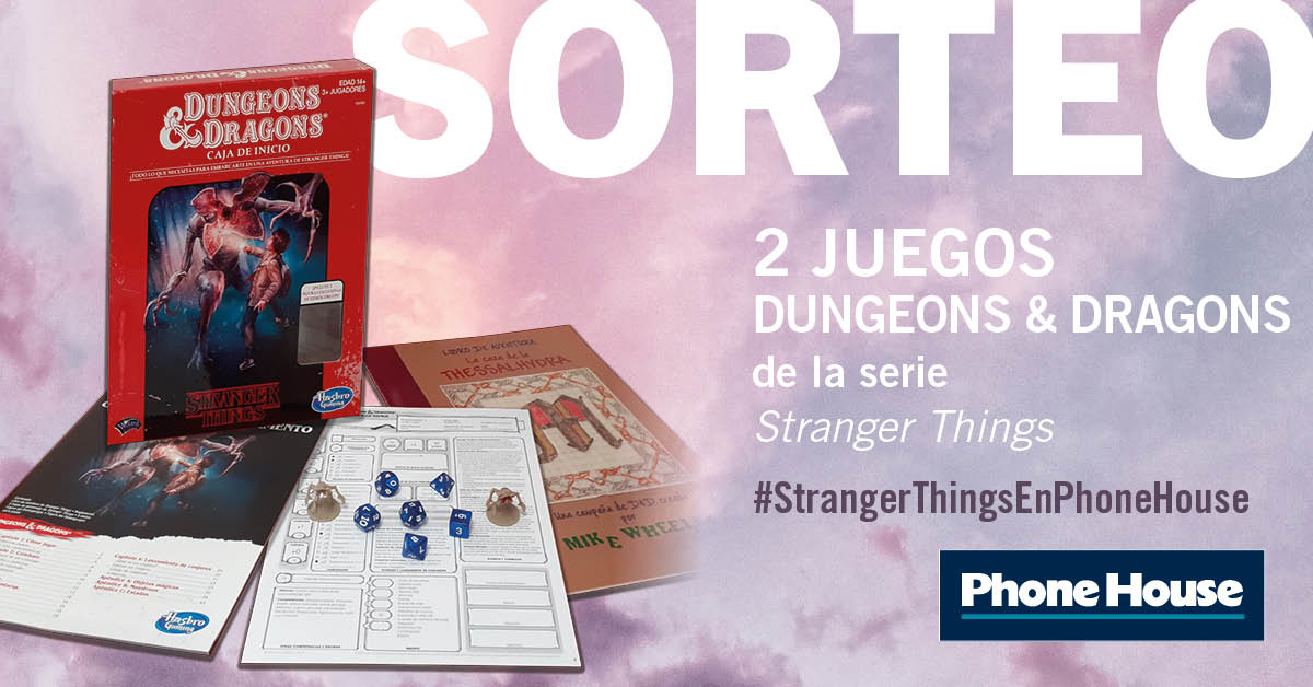 Sorteo Dungeons & Dragons Stranger Things