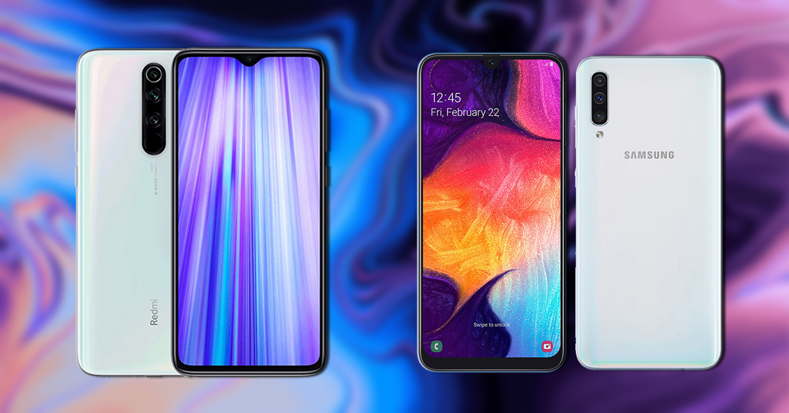 Xiaomi Redmi Note 8 Vs Samsung Galaxy A50