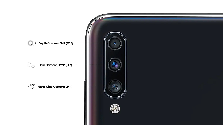 Camaras Galaxy A70
