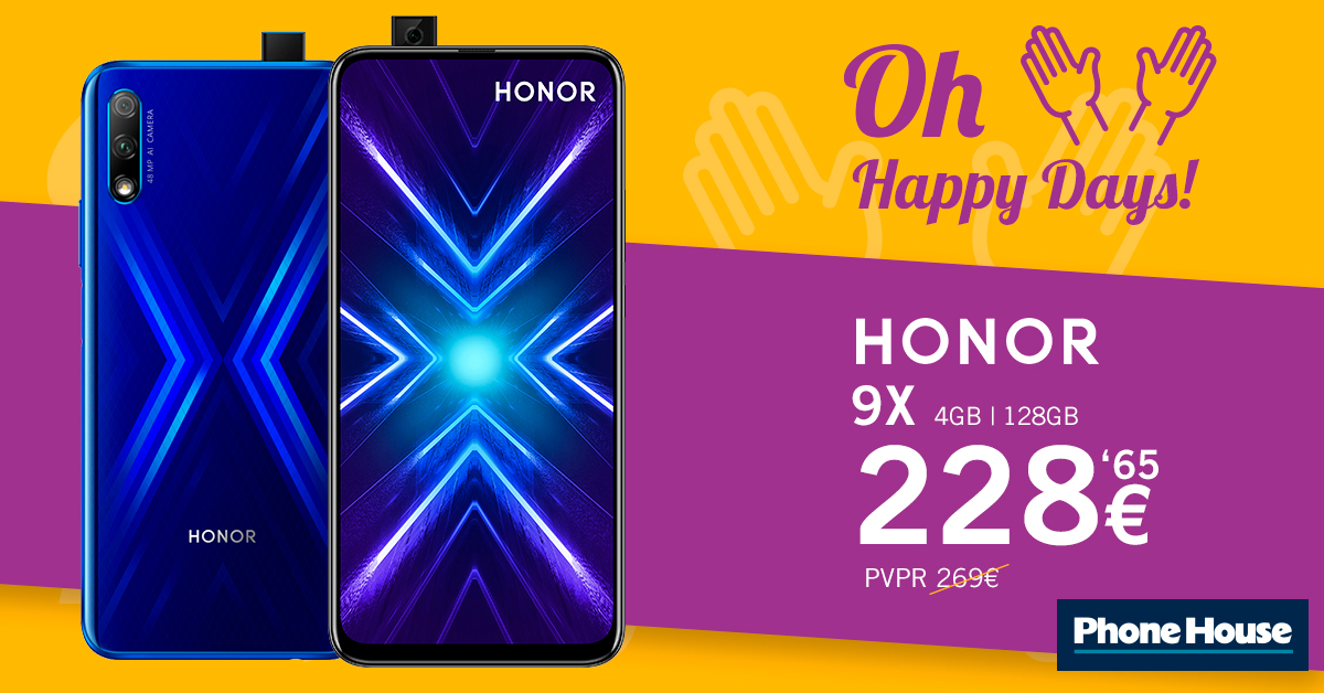 Honor9x Ads 1200x628
