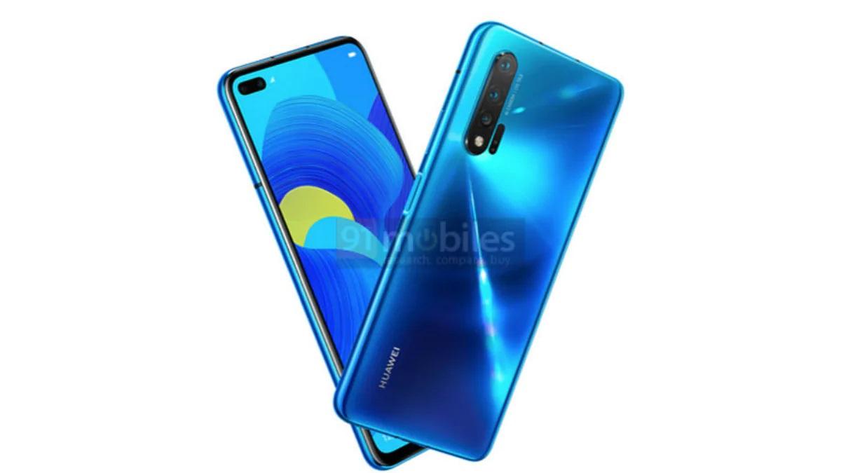 Huawei Nova 6 Azul