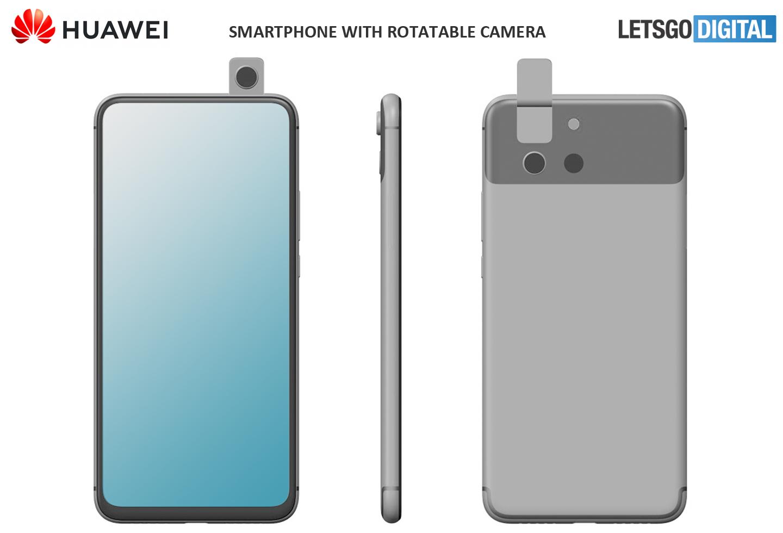 Huawei Smartphone Roterende Camera