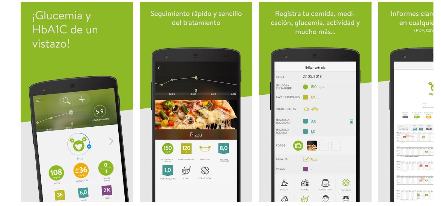 Mysugr App Diario De Diabetes