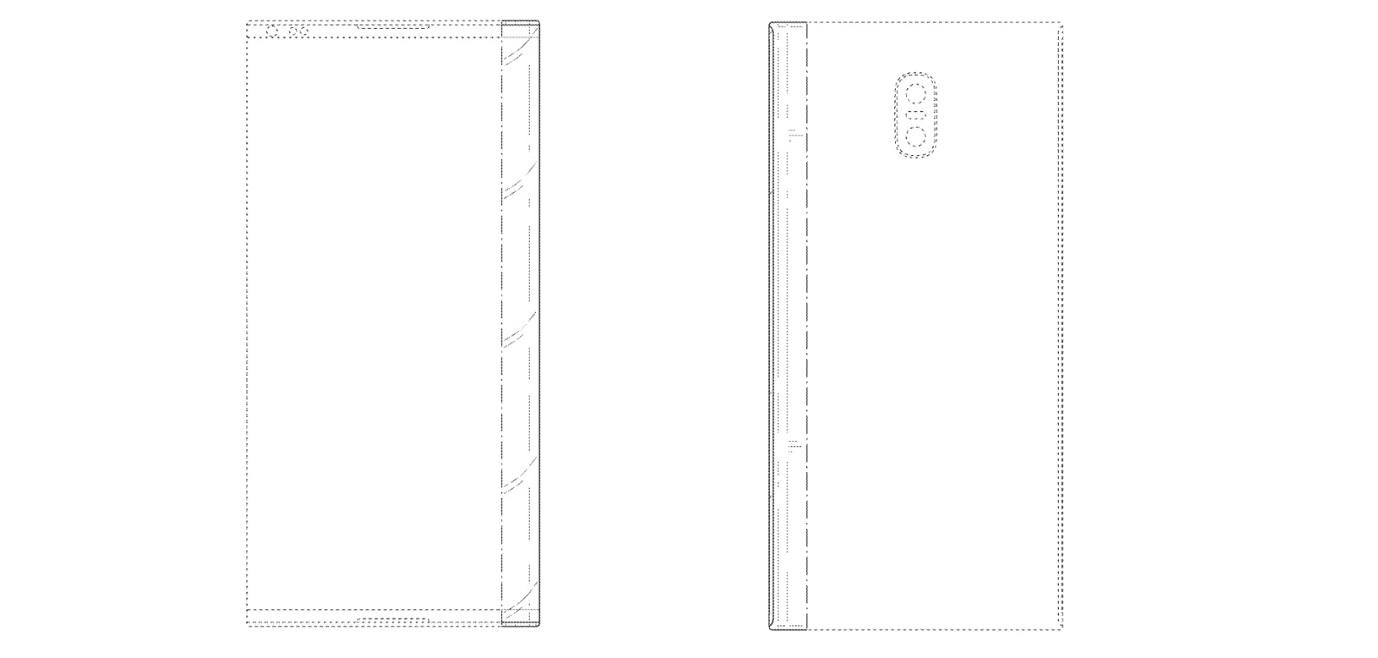 Patente Pantalla Cascada Samsung