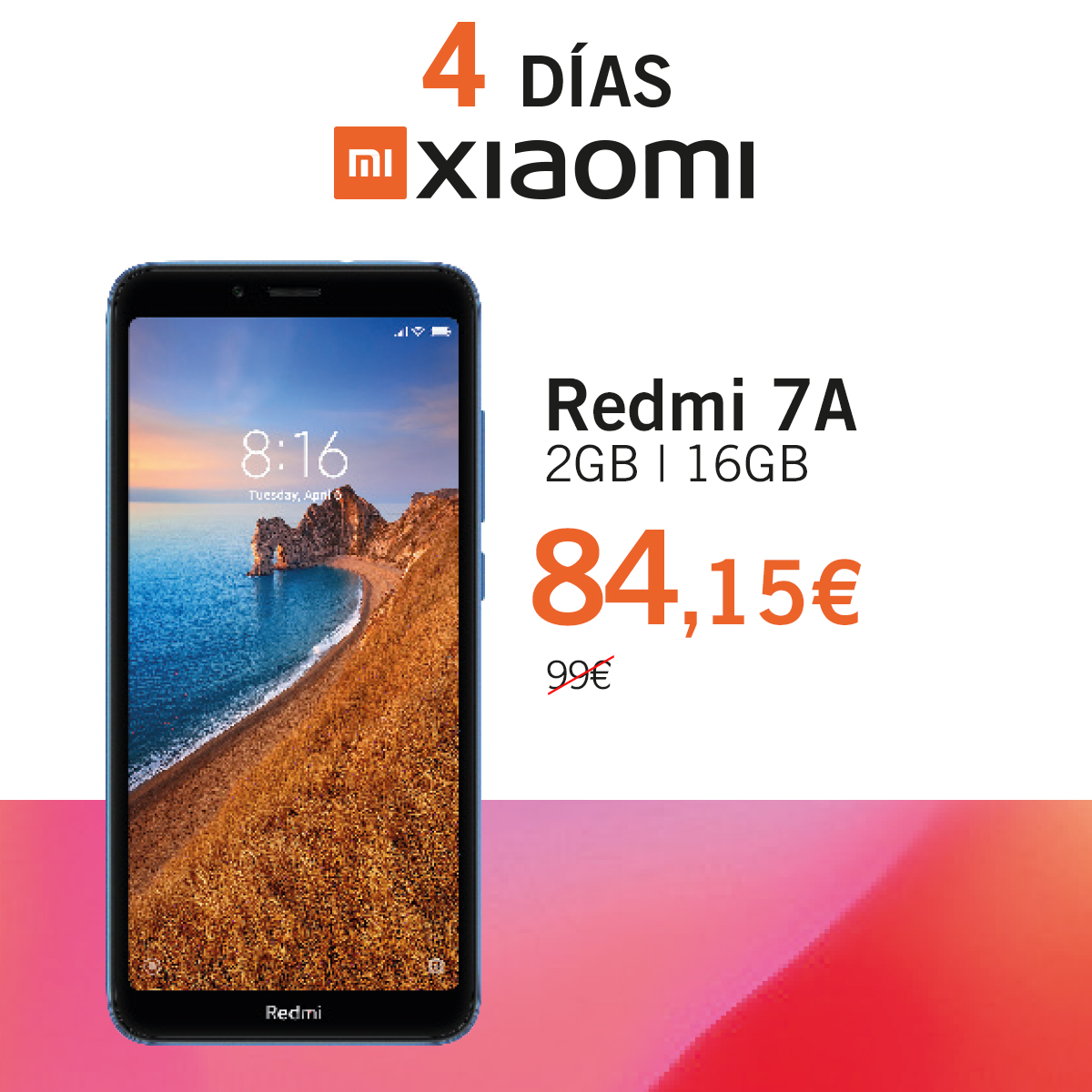 Redmi 7a Dias Xiaomi