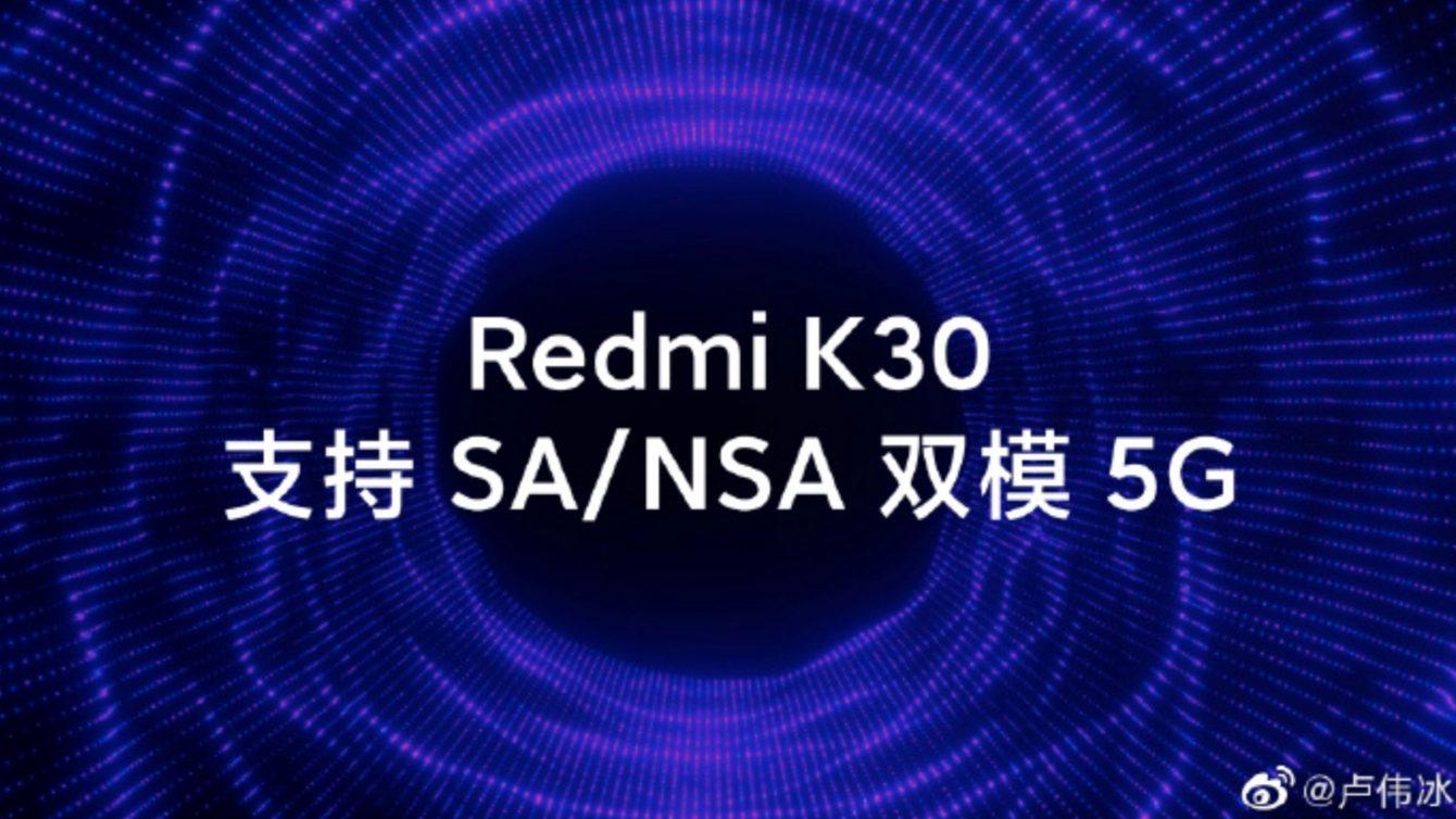 Redmi K30 5g Teaser