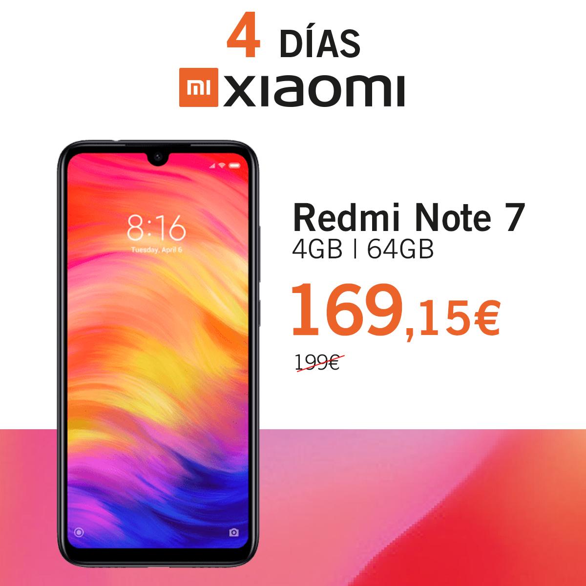 Redmi Note 7 Dias Xiaomi