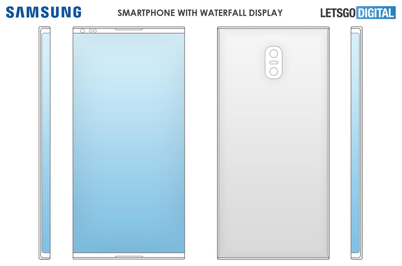 Samsung Smartphone Boceto Pantalla