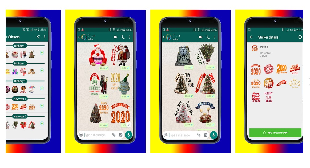 Feliz Año Nuevo 2020 Stickers Wastickerapps