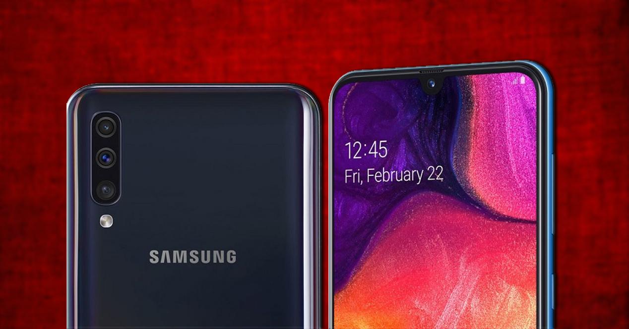 Galaxy A50 Portada