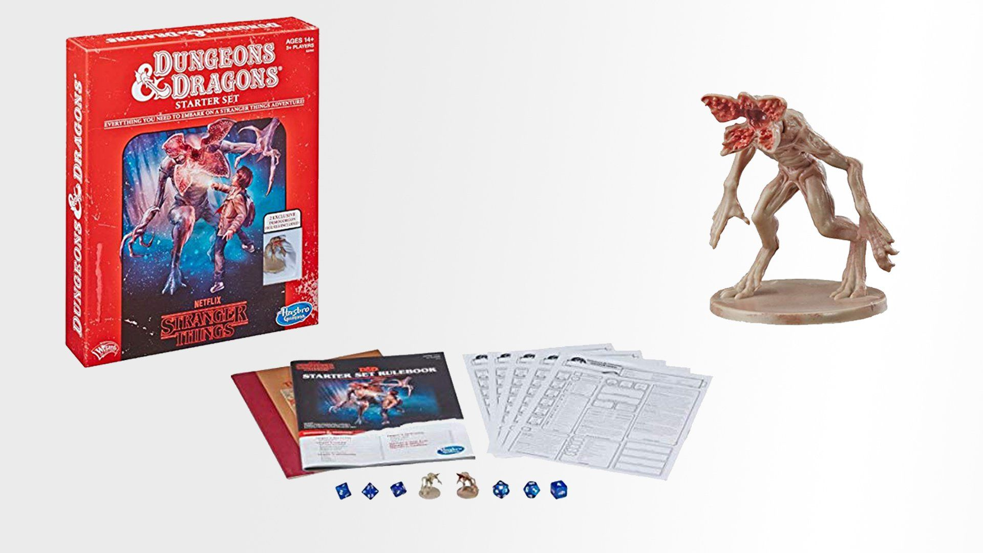 Hasbro Dungeons Dragons Stranger Things Starter Set