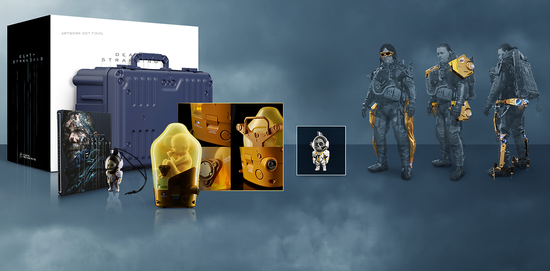 Kojima Productions Death Stranding Collector Edition Ps4