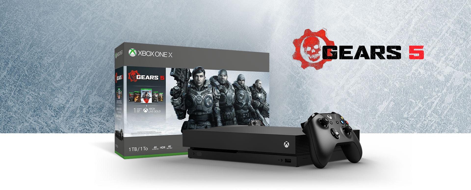 Microsoft Xbox One S 1tb Gears 5