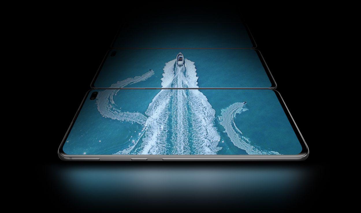 Galaxy S10 Highlight Design Display
