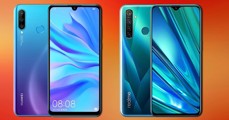 Huawei P30 Lite Vs Realme 5 Pro